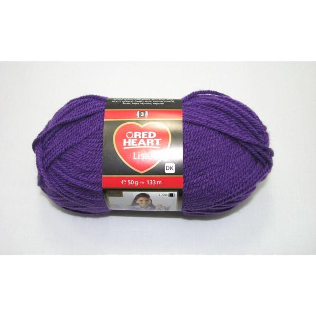 Lisa 50g-08303 purple violet