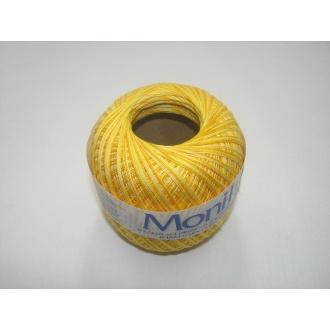 Monika 60x3-žltý tmavý melír