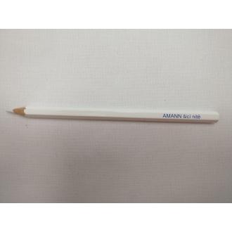 Ceruzka na textil Amann - biela