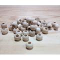 Korálky drevené guličky - 10 mm