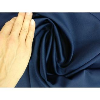 Kostýmovka hrubšia SYDNEY - Tmavá modrá (1m)
