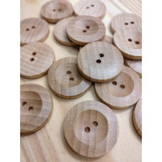 Drevený gombík - (1ks)