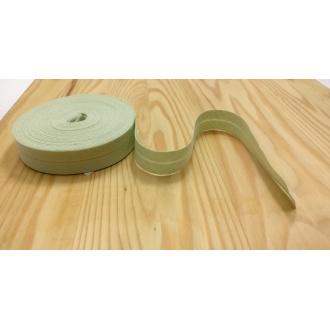 Šikmý prúžok zažehlený Bavlna 20mm - Bl. Zelená