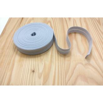 Šikmý prúžok zažehlený Bavlna 20mm - Bl. šedá