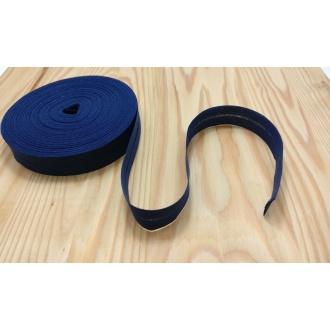 Šikmý prúžok zažehlený Bavlna 20mm - Tm. modrá