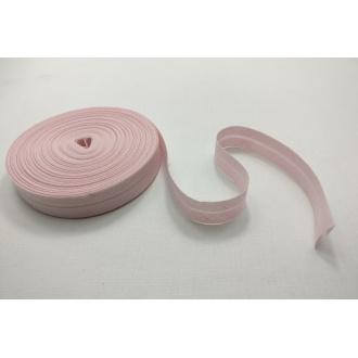 Šikmý prúžok zažehlený Bavlna 20mm - Ružová
