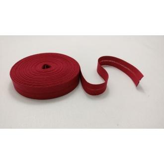 Šikmý prúžok zažehlený Bavlna 20mm - Bordó