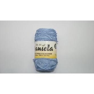 Daniela 75g-5424 svetlo modrá