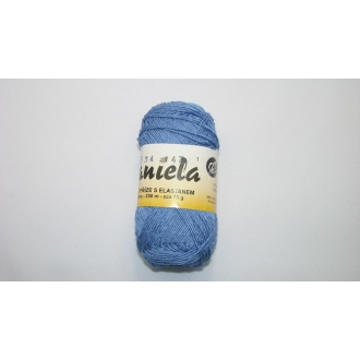 Daniela 75g-5534 stredná modrá