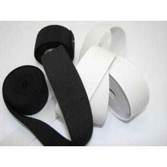 Guma prádlová š.8cm,čierna