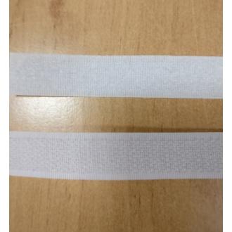 Suchý zips 16mm - (Biely)