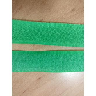 Suchý zips 20mm - (Zelený)
