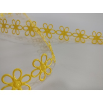 Aplikácia metráž kvety - 1m