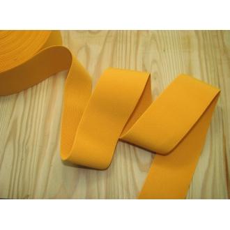 Guma ozdobná 5cm žltá