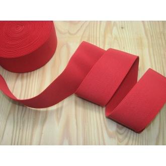 Guma ozdobná 5cm červená