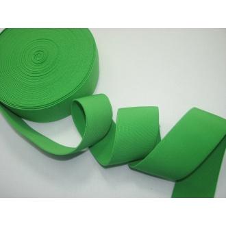 Guma ozdobná 5cm zelená