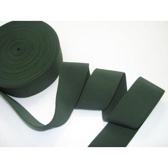 Guma ozdobná 5cm tm.zelená