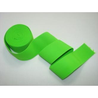 Guma ozdobná 5cm neonová zelená