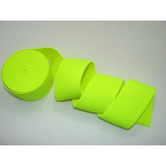 Guma ozdobná 5cm neonová žltá