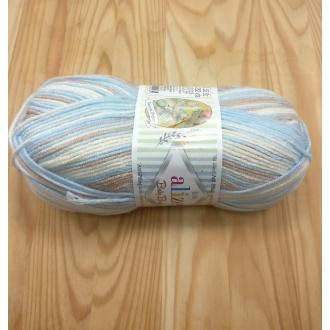 Alize Baby Best batik 100g - 6657 melír dúhový