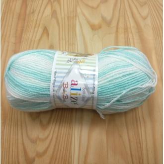Alize Baby Best batik 100g - 6659 melír dúhový