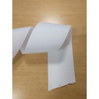 Stuha rypsová Biela - 5cm