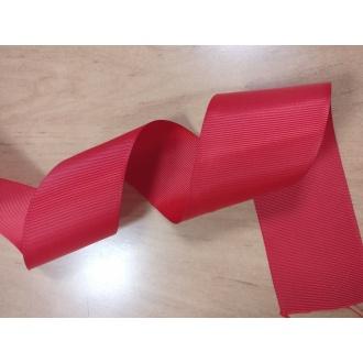 Stuha rypsová Červená - 5cm