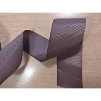 Stuha rypsová Hnedá - 4cm