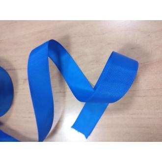 Stuha rypsová Modrá - 2,5cm