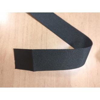 Stuha rypsová Čierna - 2,7cm