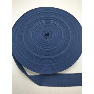 Popruh Bavlna- Tmavo modrý 3cm