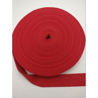 Popruh Bavlna- Červený 3cm