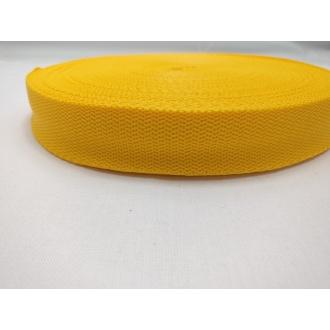Popruh Žltý 2,5cm
