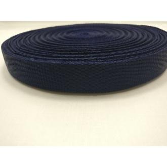 Popruh Tmavo modrý 2,5cm