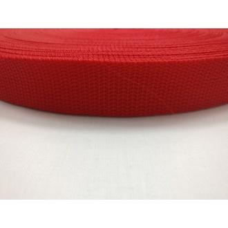 Popruh Červený 2,5cm
