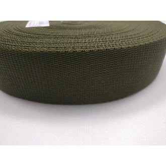 Popruh Vojenská zelená 4cm