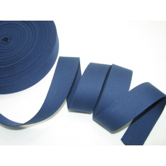 Bavlnený popruh 3cm modrý