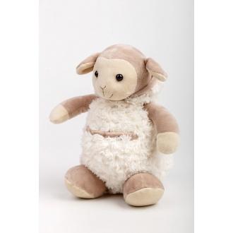 Plyšová hračka ovečka s kapucou