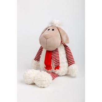 Plyšová hračka ovečka so šálom