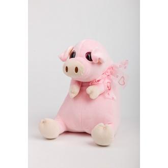 Plyšová hračka ružové prasiatko