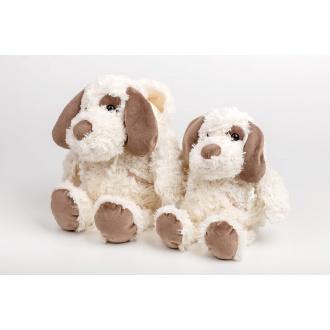 Plyšová hračka pes s kapucou malý