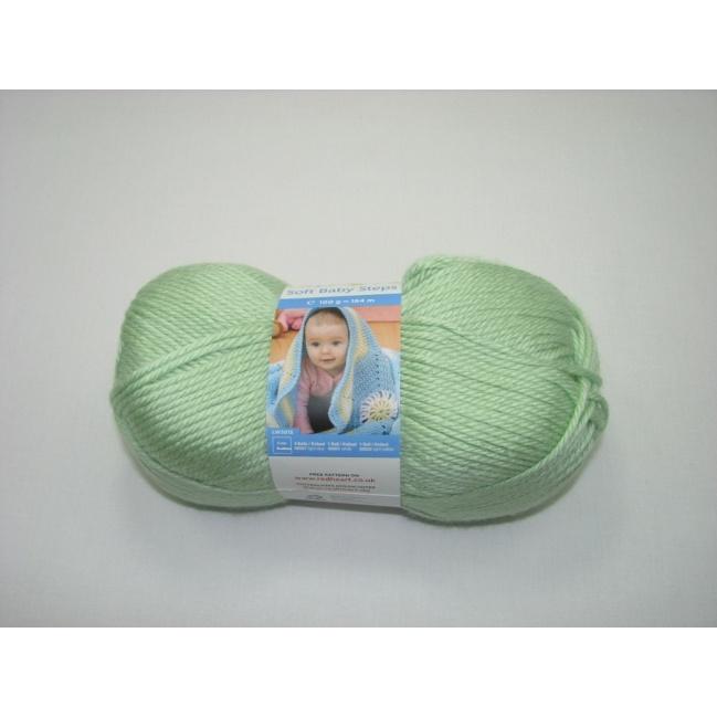 Baby Soft Steps 100g - 9630 zelená