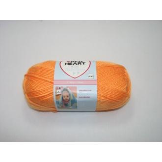 Baby Soft Steps 100g - 0031 oranžová