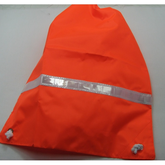 Detský reflexný batoh oranžový