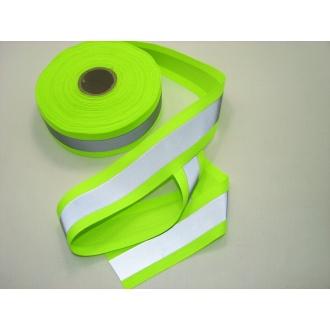 Reflexná páska 5cm žltá