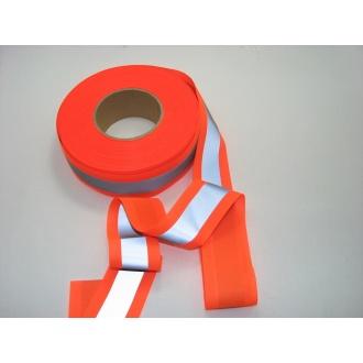 Reflexná páska 5cm oranžová