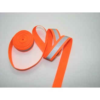 Reflexná páska 2cm oranžová