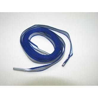 Reflexné šnúrky do topánok modré