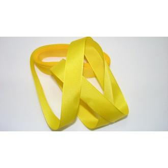 Stuha taftová 15mm , 207 tmavá žltá