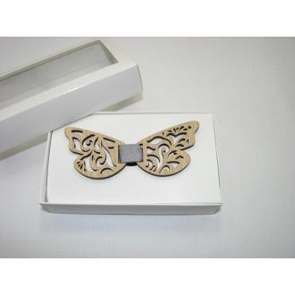 Motýlik pánsky drevenný